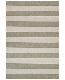 "Couristan Indoor/Outdoor Afuera Yacht Club 5'3"" x 7'6"" Area Rug"