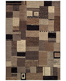 "Couristan Area Rug, Taylor Maribel Ivory-Grey 5'3"" x 7'6"""