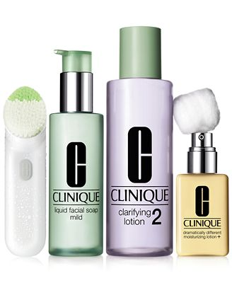 Clinique 3 Step Skin Type 2 Dry Combination Makeup