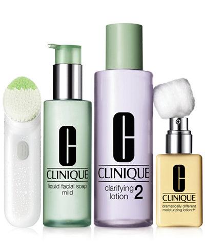 clinique 3 step skin type 2 dry combination makeup. Black Bedroom Furniture Sets. Home Design Ideas