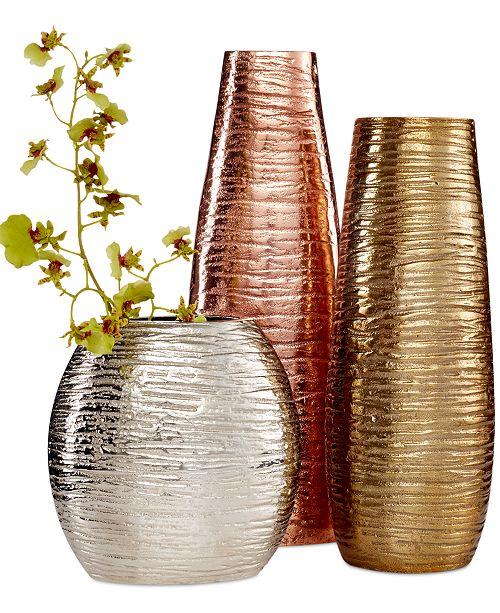 Simply Designz Metallic Vases Collection Bowls Vases Macys