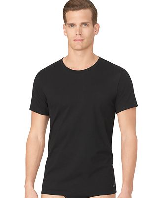 Calvin Klein Men's Cotton Classics Crew-Neck Classic Fit 3-pack ...
