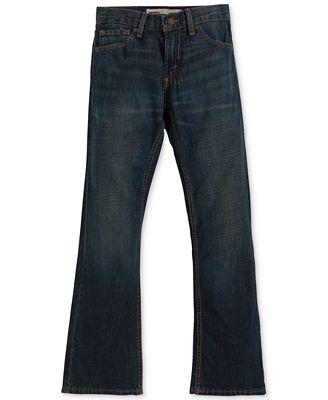 Levi&39s® Boys&39 Husky 527 Bootcut Jeans - Jeans - Kids &amp Baby - Macy&39s