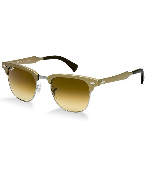 Ray-Ban Sunglasses, RB3507 CLUBMASTER ALUMINUM