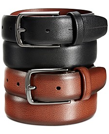 Portfolio Men's Leather Park Avenue Big and Tall Belt