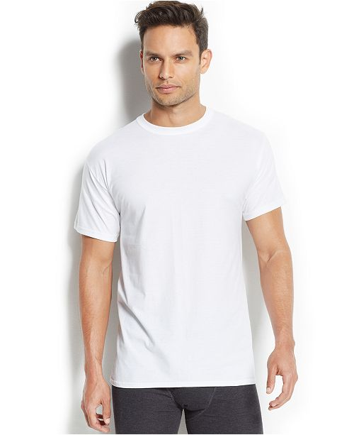 ef696e5f6f323 Hanes men s x-temp performance crew-neck Undershirt 4-pack   Reviews ...