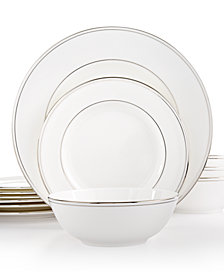 Lenox Federal Platinum 12-Pc. Dinnerware Set, Service for 4, Created for Macy's