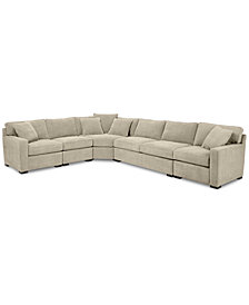 Radley 5-Piece Fabric Sectional Sofa, Created for Macy's