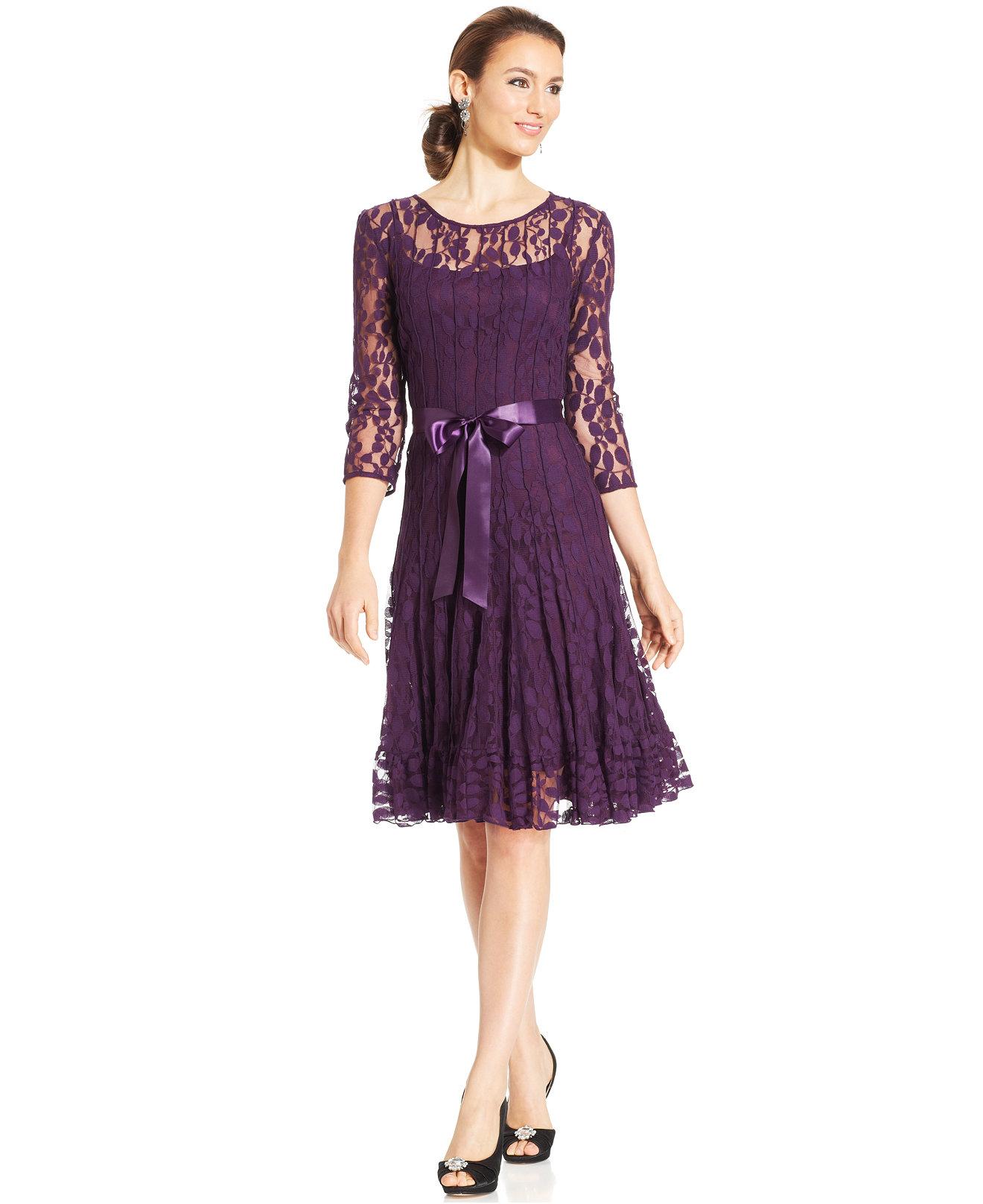 Womens Purple Dresses