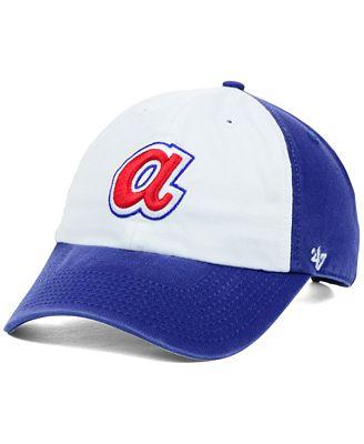 '47 Brand Atlanta Braves Clean Up Cap