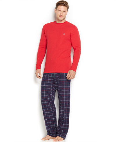 Polo Ralph Lauren Men's Loungewear, Thermal & Flannel Tops and Bottoms