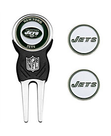 Team Golf New York Jets Divot Tool and Markers Set