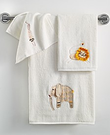 Kids Towels, Animal Crackers Collection