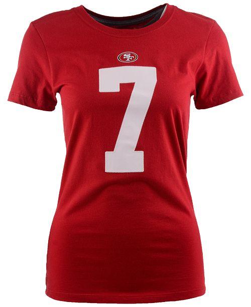 c342acd2e Nike Women's Colin Kaepernick San Francisco 49ers Player Pride T-Shirt ...