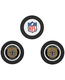 New Orleans Saints 3-Pack Poker Chip Golf Markers