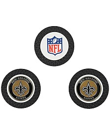 Team Golf New Orleans Saints 3-Pack Poker Chip Golf Markers