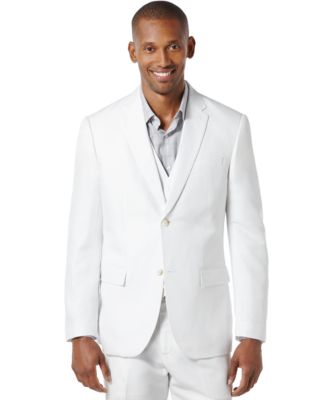 Men's Big and Tall Linen Blend Suit Jacket