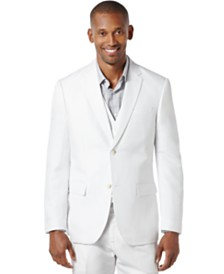 Perry Ellis Men's Big and Tall Linen Blend Suit Jacket