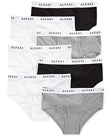 Alfani Men's Tagless Low-Rise Briefs 7-Pack