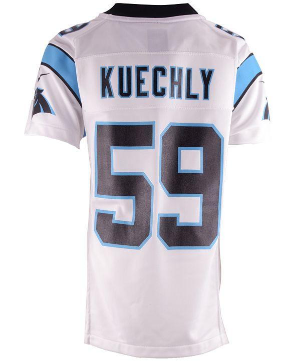 Nike Luke Kuechly Carolina Panthers Game Jersey, Big Boys (8-20)