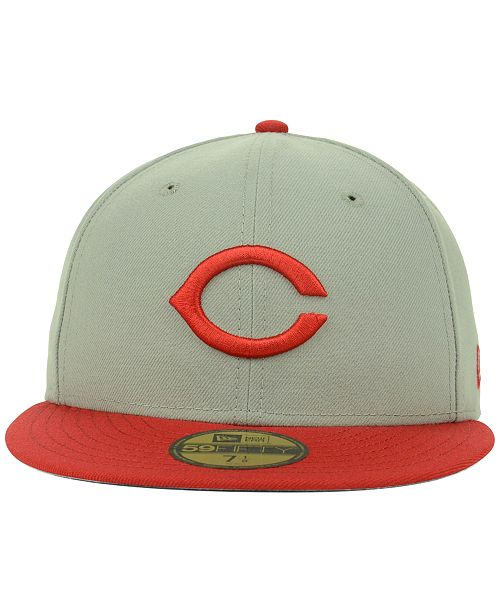 New Era Cincinnati Reds MLB Cooperstown 59FIFTY Cap - Sports Fan Shop By  Lids - Men - Macy s 0aea6d119893