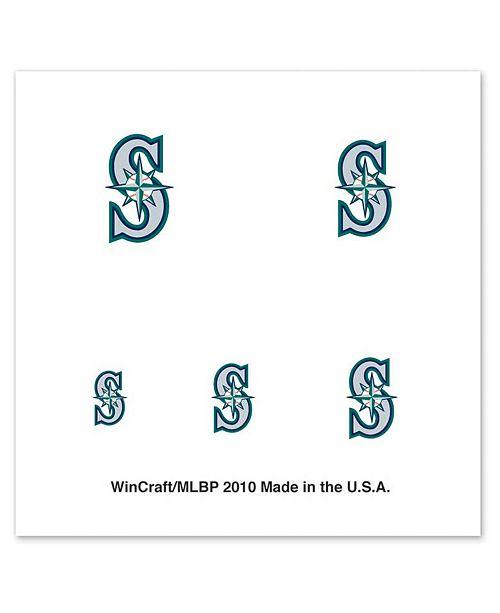 Wincraft Seattle Mariners Nail Tattoos