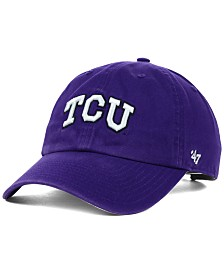 '47 Brand Texas Christian Horned Frogs NCAA Clean-Up Cap