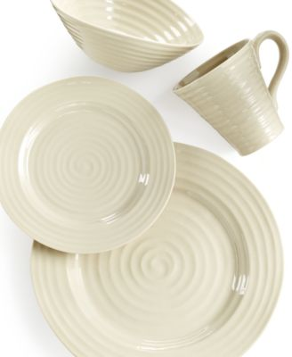 Portmeirion Sophie Conran Pebble 4 Piece Place Setting  sc 1 st  Macy\u0027s & Portmeirion Sophie Conran Pebble 4 Piece Place Setting - Dinnerware ...
