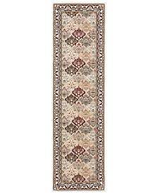 "kathy ireland Home Ephesus Anatolia Magnesian Multi 2'2"" x 7'6"" Runner Rug"