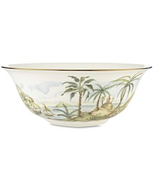 British Colonial Serving Bowl