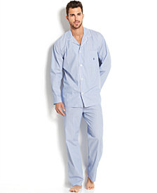 Polo Ralph Lauren Big and Tall Men's Andrew Striped Pajama Set