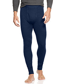 Alfani Men's Big & Tall Thermal Pants, Created for Macy's