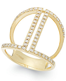 Geo by EFFY Diamond Ring in 14K Gold (5/8 ct. t.w.)