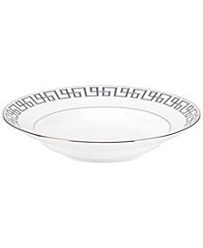 Darius Silver Rim Soup Bowl