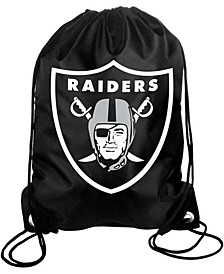Oakland Raiders Big Logo Drawstring Bag