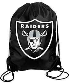 Forever Collectibles Oakland Raiders Big Logo Drawstring Bag