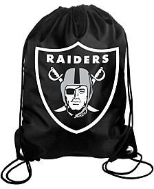Forever Collectibles Oakland Raiders Big Logo Drawstring Bag