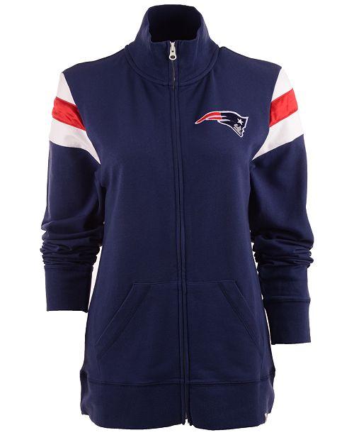'47 Brand Women's New England Patriots Crossover Track Jacket