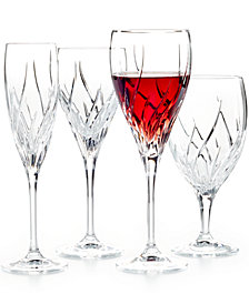 """Marquis by Waterford """"Summer Breeze"""" Bar and Stemware"""