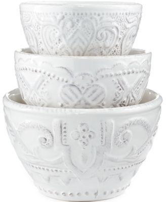 Blanc Set of 3 Nesting Bowls