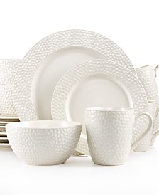 Gourmet Basics by Mikasa Hayes 16-Pc. Set, Service for 4