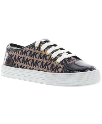 Michael Kors Girls' or Little Girls' MK Logo Sneakers