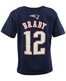 Toddler Boys' Tom Brady New England Patriots Mainliner Player T-Shirt