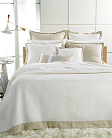 Hotel Collection Voile Quilted Full/Queen Coverlet, Created for Macy's