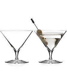 Waterford Elegance Martini Glass Pair