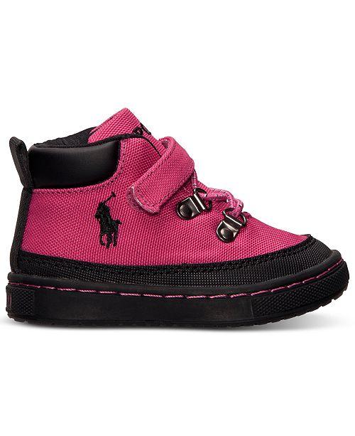 896b609a Polo Ralph Lauren Toddler Girls' Logan Hiker Boots from ...