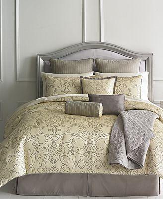 CLOSEOUT! Martha Stewart Collection Vienna 22 Piece Comforter Sets