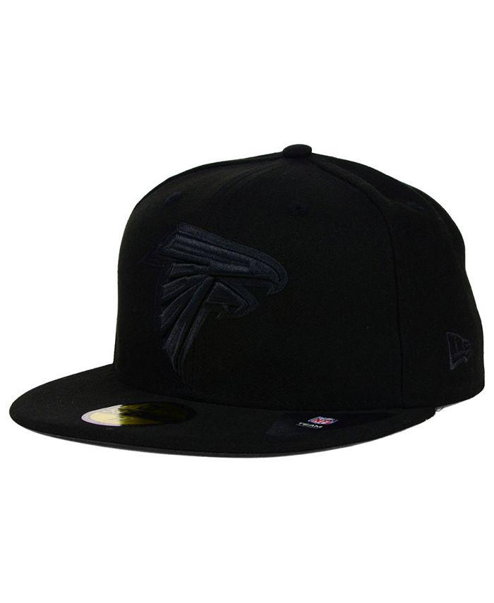 New Era - Atlanta Falcons Black on Black 59FIFTY Cap