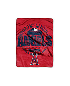 Northwest Company Los Angeles Angels of Anaheim Micro Raschel Structure Blanket