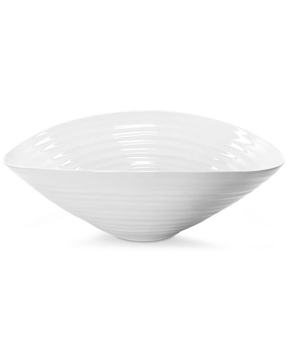 Portmeirion Dinnerware, Sophie Conran White Large Salad Bowl